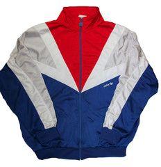 80s adidas jacket