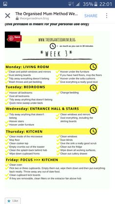 TOMM Week 3 Cleaning Crew, House Cleaning Checklist, Clean House Schedule, Cleaning Hacks, Cleaning Routines, Cleaning Supplies, Organised Mum, Organisation Hacks, Happy Minds