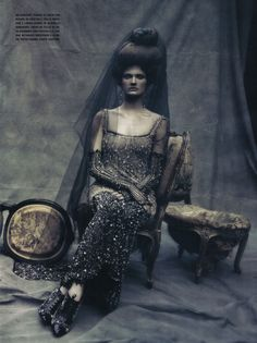 chanel / haute couture / fashion editorial / vogue italia.    - Repinned by http://TommyAndersson.com at Pinterest #TommyAndersson