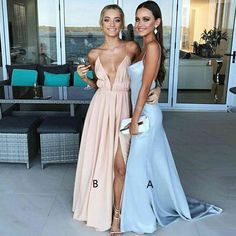 Prom Dress Beautiful, Sheath V-Neck Sweep Trian Backless Light Blue Stretch Satin Prom Dress, Discover your dream prom dress. Our collection features affordable prom dresses, chiffon prom gowns, sexy formal gowns and more. Find your 2020 prom dress Straps Prom Dresses, Open Back Prom Dresses, Simple Prom Dress, Prom Dresses 2017, Ball Dresses, Dresses Dresses, Dress Long, Prom Gowns, Hot Dress