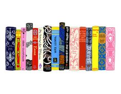 Ideal Bookshelf 353: English Lit, by  Jane Mount - 20x200.com (lot of color for me but I love the theme)