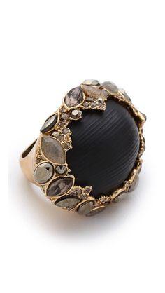 Alexis Bittar Кольцо Marquis в необогемном стиле в форме виноградной лозы