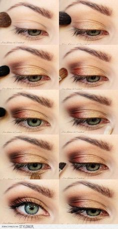 Discover more about eye makeup & beauty Discover Makeup Inspo, Makeup Inspiration, Beauty Makeup, Hair Makeup, Hair Beauty, Eye Makeup Steps, Natural Eye Makeup, Simple Makeup Looks, Pretty Makeup