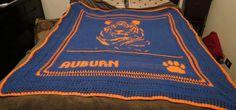Auburn crochet blanket