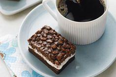 Barres de céréales à la guimauve et au chocolat