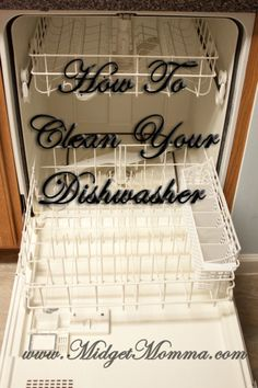 How To Clean Your Dish Washer