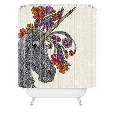 For the master bath Valentina Ramos Unicornucopia Shower Curtain | DENY Designs Home Accessories