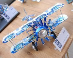 beer can airplane