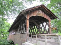 Schoharie Fox Creek Covered Bridge Schoharie, NY