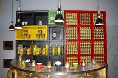 English Mustard in a French Mustard shop in Dijon