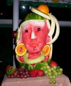 Fruit art..