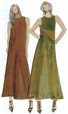 Christine Jonson A Line Dress 930