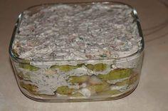 Fokhagymás, tejfölös, kapros rakott cukkini a hűtőből! Könnyen elkészíthető, ínycsiklandó finomság!