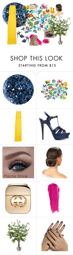 """✲Spring days✲"" by buddyames on Polyvore featuring Deborah Lippmann, Dot & Bo, Rachel Comey, Yves Saint Laurent, Gucci, NARS Cosmetics and Diane James"