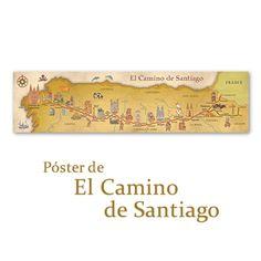 Póster de El Camino de Santiago