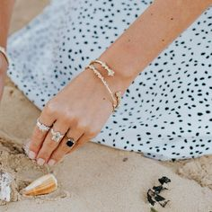 Sleek and elegant on their own or when stacked, our beautiful bangles draw inspiration from natural forms and are handcrafted in recycled sterling silver and 18ct gold vermeil and all our bangles can be personalised. #silverbracelet #surferstyle #summerstyling #goldbracelet #classicgold #silverbangle Surfer Style, Prom Outfits, Classic Gold, Natural Forms, Dainty Jewelry, Silver Bangles, Personalized Jewelry, Handcrafted Jewelry, Draw