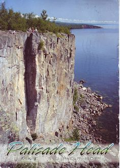 Palisade Head and Shovel Point on Lake Superior's North Shore near Silver Bay, Minnesota