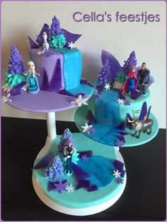 Frozen taart Cupcakes, Desserts, Food, Postres, Cupcake, Deserts, Cup Cakes, Hoods, Meals