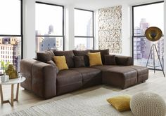 Trendiges Sofa von CARRYHOME - für den ganz großen Komfort