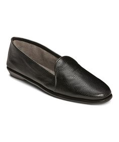 Take a look at this Black Best Bet Loafer by A2 by Aerosoles on #zulily today!