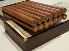 Krokierstifte-mapas-lapices-Johann-Faber-n-3070-Map-case-Pencils-rara-talla