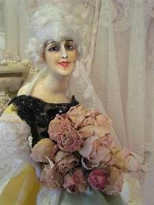 346 best images about Flapper Smoker Boudoir Dolls( and others) on Pinterest