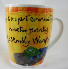 OCCUPATION MUG - ASSEMBLY WORKER