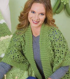 Up to 5x. Satin Crochet Cardigan