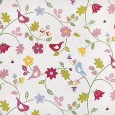 Multi Floral Bird Trail PVC Oilcloth Wipe Clean Tablecloth Rectangle    134cm X 160cm (53