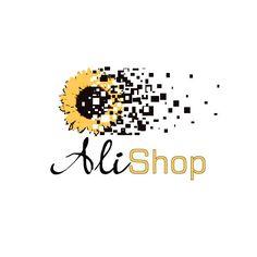 Original Logo designvector sunflower decomposing by HappyLogo