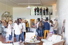 Austin's finest vendors gathered to create a beautiful modern, industrial event for One Eleven East's Grand Opening.