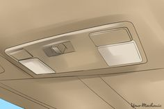 Your vehicle interior's ceiling has a finished appearance. It is covered in fabric or vinyl which serves a few ...
