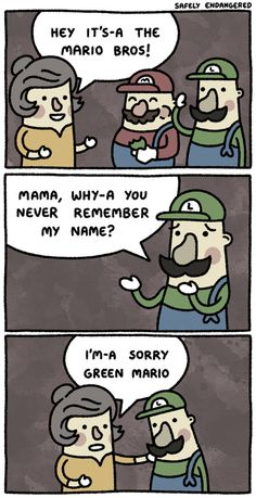 Mario's Mom.