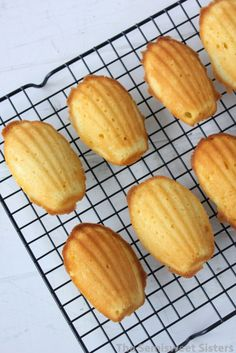 Spritz Cookies, Yummy Cookies, Madelines Recipe, Madelines Cookies, Madeline Cookies Recipe, Baking Recipes, Cookie Recipes, French Dessert Recipes, Cake Recipes From Scratch