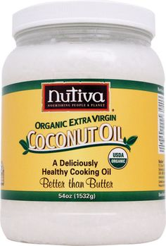 Coconut Oil is a cooking/ all around beauty cupboard must have.