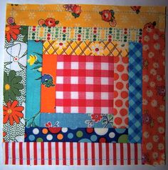 Paper piecing is a great way to make miniature quilt blocks and to use up the odds and ends fabric pieces.  Visit Melly and Me f...