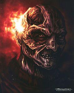 Freddy Krueger Horror Artwork, Horror Monsters, World Of Darkness, Horror Icons, Nightmare On Elm Street, Freddy Krueger, Horror Movies, Horror Film, Dark Fantasy