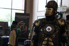 SteamPunk Iron Man at Salt City SteamFest 2014!