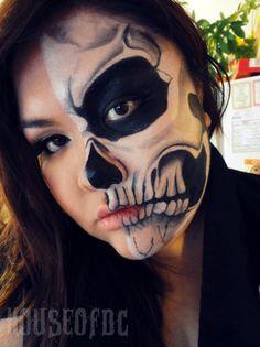 40 Halloween skull make-up ideas · Skullspiration.com - skull designs, art, fashion and moreSkullspiration.com – skull designs, art, fashion and more
