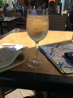 Delicious white wine spritzer in Jersey