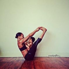 Awwwww! Mommy and baby #yoga time #cute #namaste <3 I WANT TO DO THIS WITH MY FUTURE BABY