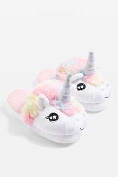 online shopping for Topshop Mya Unicorn Slippers from top store. See new offer for Topshop Mya Unicorn Slippers Unicorn Bedroom Decor, Unicorn Rooms, Unicorn Gifts, Cute Unicorn, Rainbow Unicorn, Cute Slippers, Slippers For Girls, Womens Slippers, Unicorn Fashion