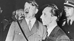Goebbels and Hitler during the Nazi election campaign in 1933. Goebbels' estate sues Random House for diary royalties. The estate of Adolf Hitler's propaganda chief, Joseph Goebbels, is suing a publisher for royalties for the use of extracts from his diaries. A biography of Goebbels published by Random House quotes extensively from Goebbels' diaries, which are copyrighted until the end of this year. Random House initially agreed to pay a fee, but later said it was wrong to pay the estate of…
