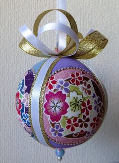 Japanese Floral Ornament by OrnamentDesigns on Etsy
