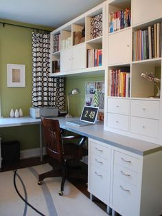 Home Office, Ikea- want something similar for my craft room