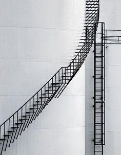 industrial stair: