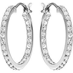 The Swarovski earrings collection features a vibrant selection of stylish accessories for the modern woman, showcasing precision cut clear and color crystals. Somerset, Fine Jewelry, Women Jewelry, Palladium, Hoop Earrings, Pierced Earrings, Swarovski Jewelry, Birthstone Jewelry, Or Rose