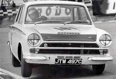 1965 BTCC, Brands Hatch : Jim Clark, Lotus Cortina Mk1, Team Lotus. (ph: © P. Windsor)