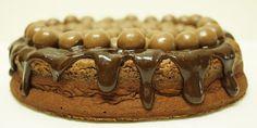Bolo de Chocolate e Nutella com Maltesers