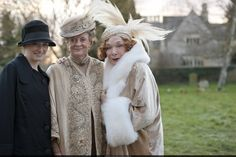The Gilded Age Era: Downton Abbey Season 3 Grandparents have a crucial role to play in any family as dispensers of wisdom and healers of souls.  No one can put a situation into perspective better than someone who has seen seven decades pass. In times of pain and panic, it is the Dowager who is needed most.